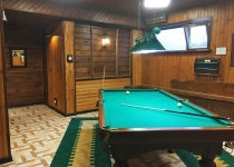 8-и местный номер с бассейном и бильярдом Сауна Золотой Стрелец Фотогалерея